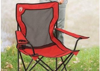 Coleman BroadbandTM Quad Chair