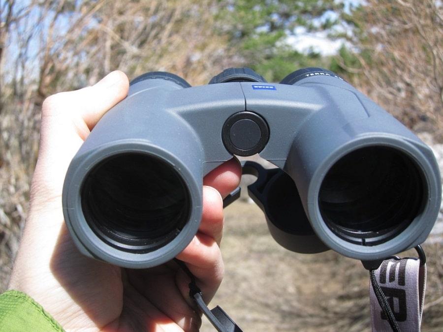 Compact binocular testing