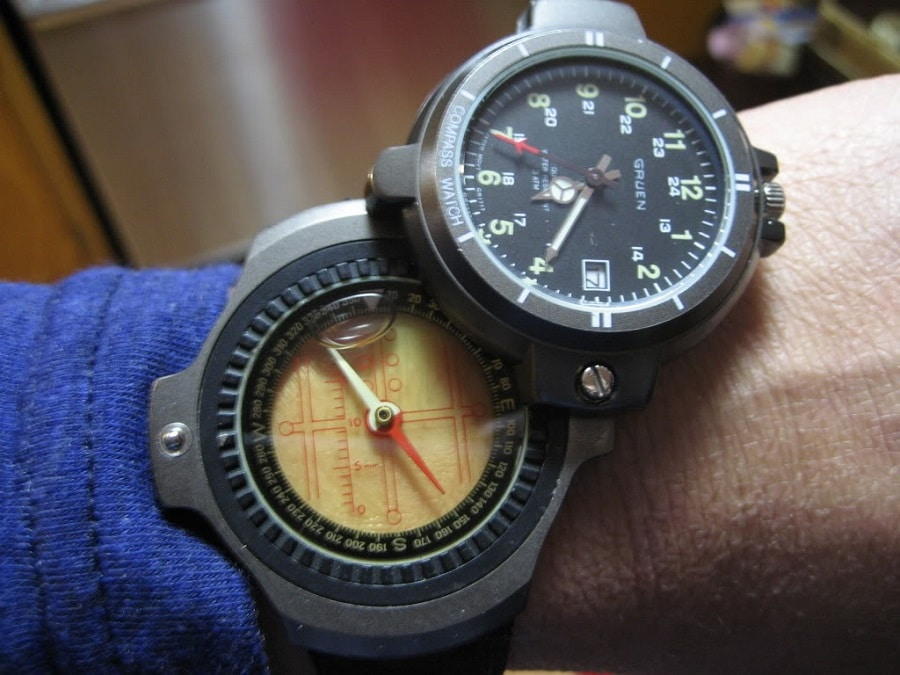 Best compass watch of 2017 expert 39 s advice prices top products for the money for Watches with compass