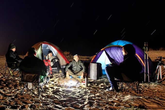 Image of Fenix CL25R Rechargeable Lantern and some friends around it