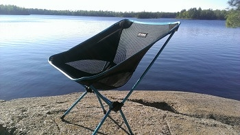 Helinox - Chair One, The Ultimate Camp Chair, Black