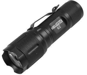 Helotex G2 CREE LED Tactical EDC Flashlight