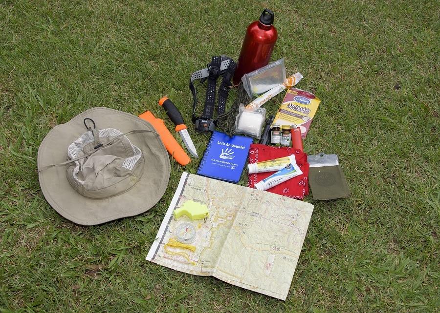 Hiking safety gear