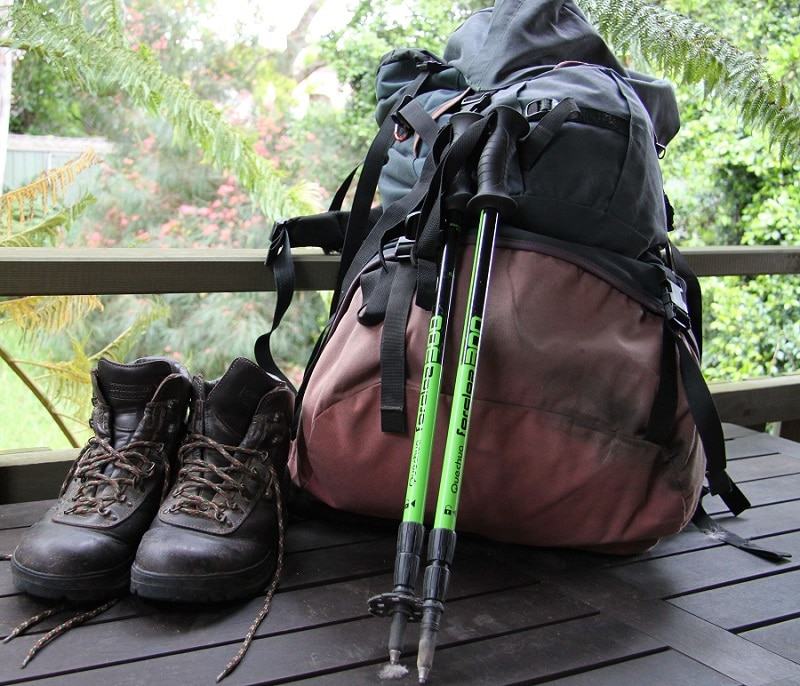 Hiking wear and gear