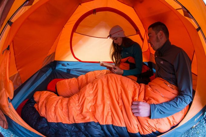 Insulation of Sleeping Bags