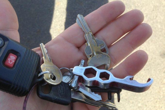 Keychain Multi Tool
