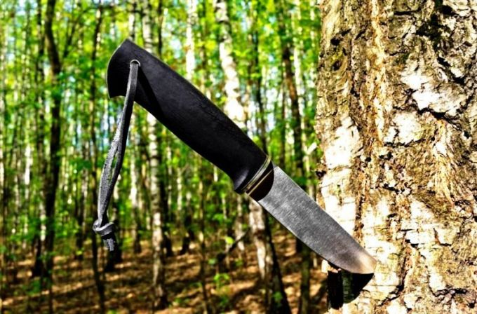Knife in the Wood