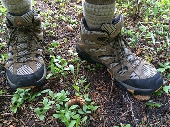 Merrell Men's Moab Ventillator Mid Hiking Boot