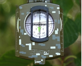 Multifunction Military Army Metal Sighting Compass