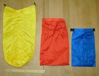 Outdoor Products 3-Pack Ultimate Dry Sack