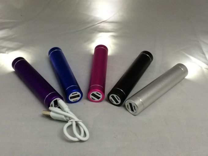 Portable charger with flaslight
