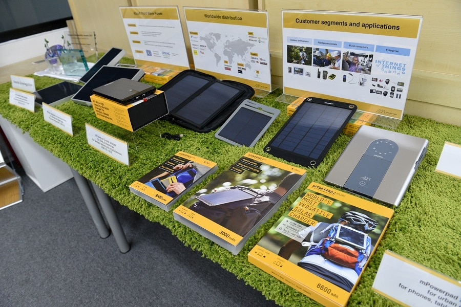 Portable solar devices versatility