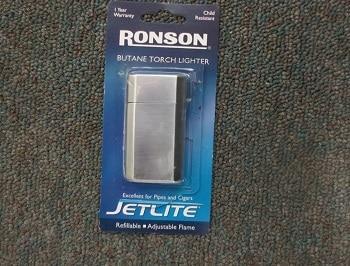 Ronson Jetlite Butane Lighter