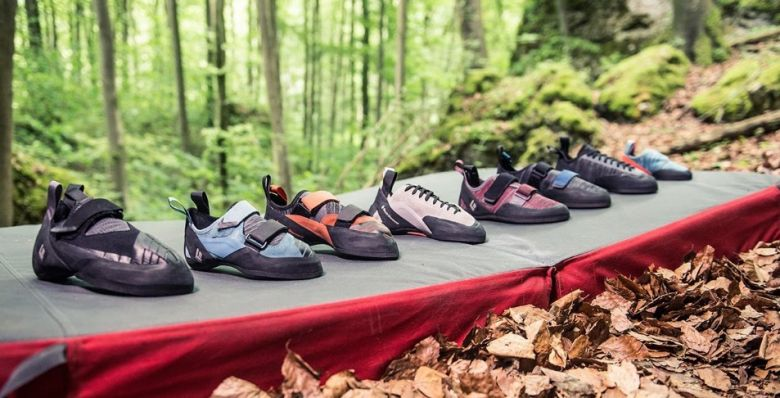 rock climbing shoes featured