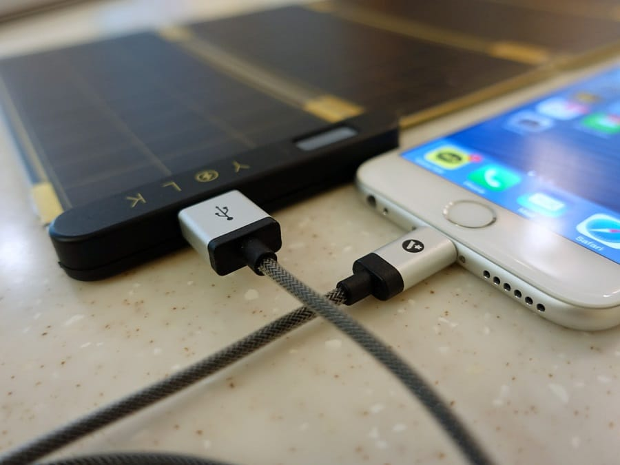Solar devices for iPhones