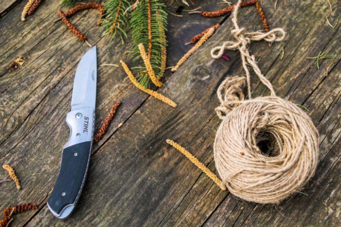 Stihl folding knife