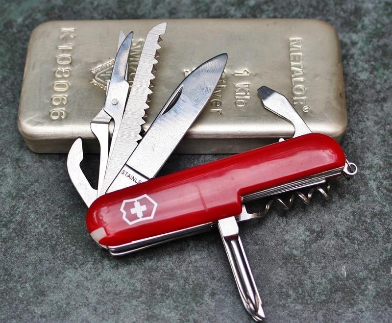 Swiss army knife size