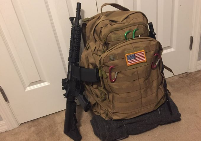 Tactical Bug Out Backpack