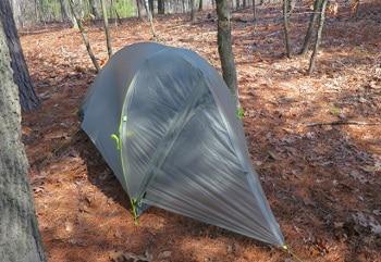 The Mountain Hardwear SuperMegaUL 1 Tent