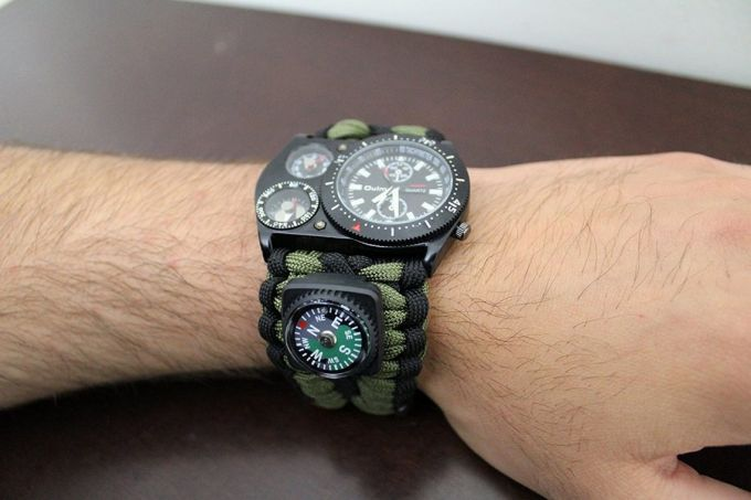 Thermometer on best survival watch