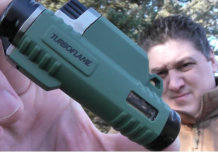 Turboflame waterproof lighter