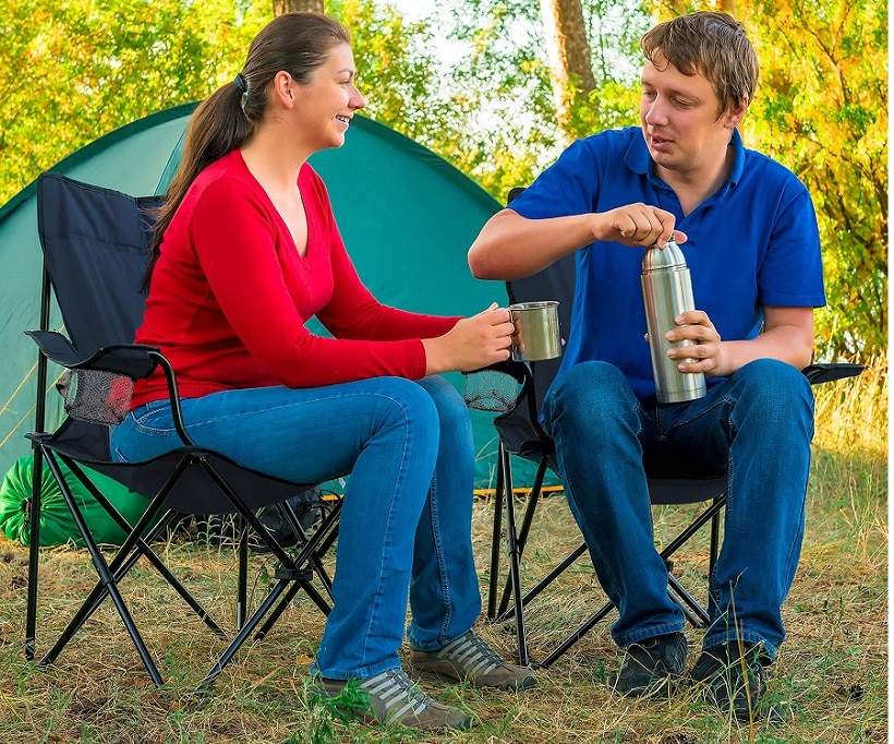 Use of camping chairs