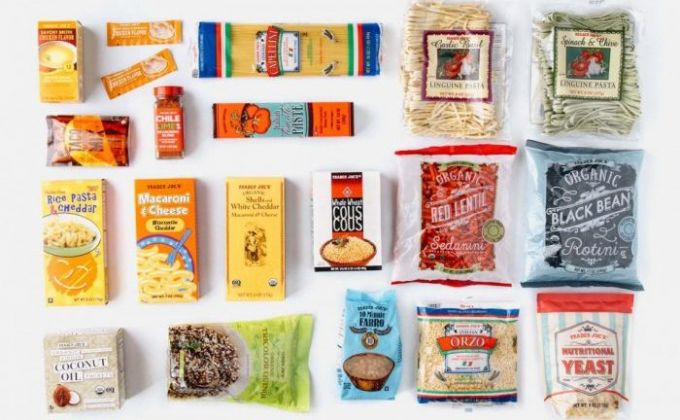 backpacking food ideas on a table