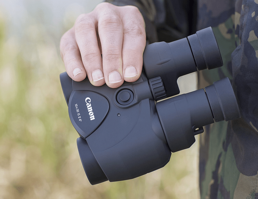 Compact binocular magnification