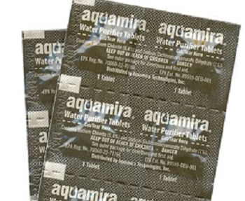 AquaMira Water Purifier Tablets, Chlorine Dioxide