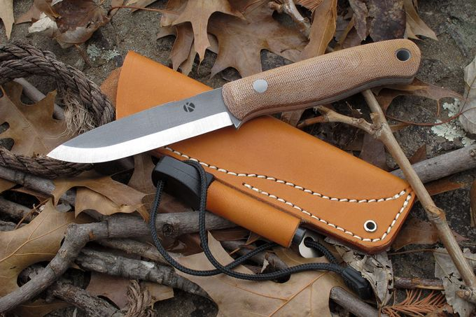 Best Bushcraft Knife made of stainless steel