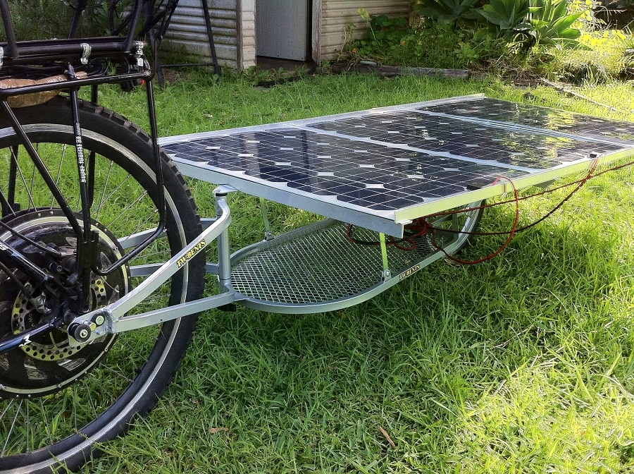 Build your-own solar powered bicycle