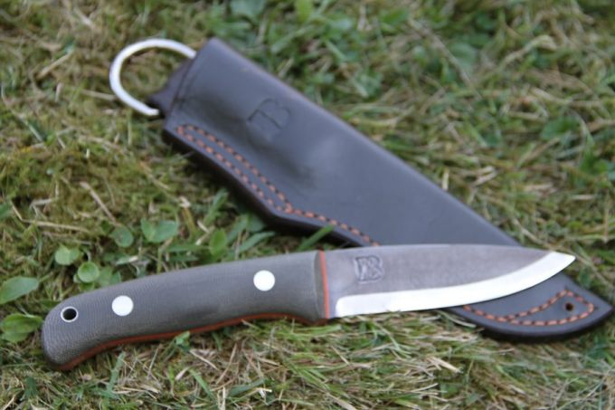 Image presenting the bushcraft-knife-parts