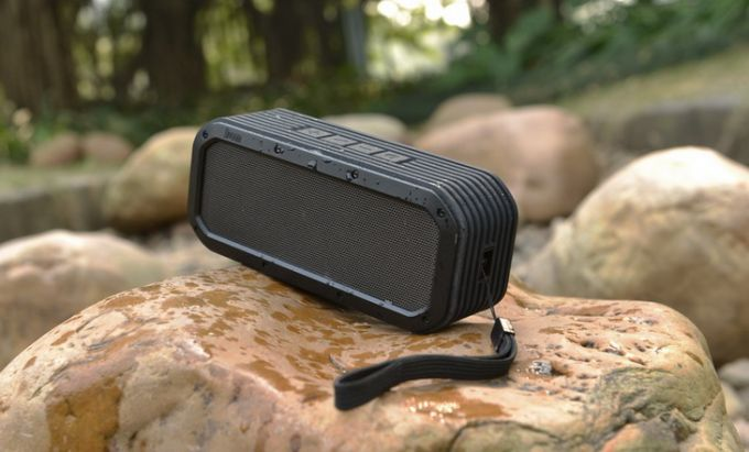 Image showing a Camping gadget on a rock