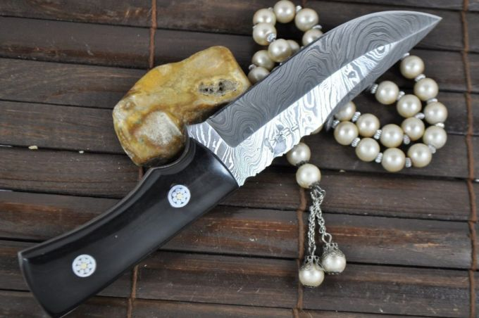 Image showing a Full tang bushcraft knive
