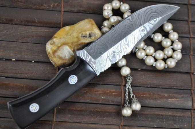 Image showing a Full tang bushcraft knive
