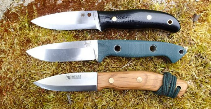 Image showing the The Convex Grind of bushcraft knives