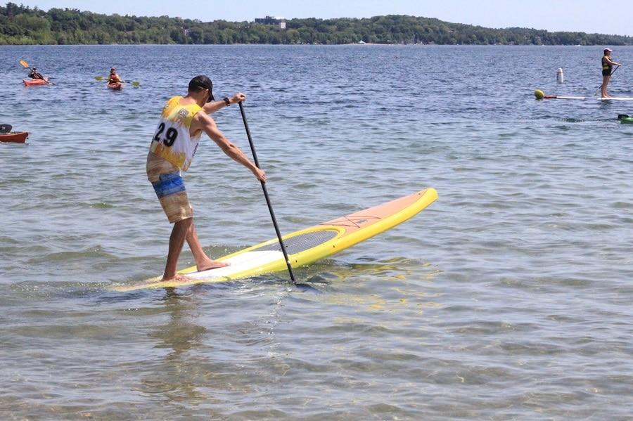 Paddle Board Hull Type