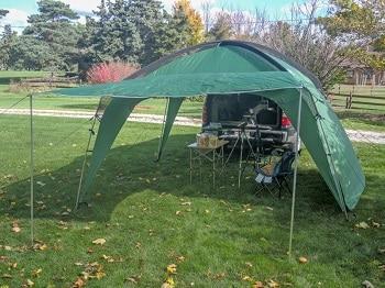 Pahaque Wilderness Cottonwood LT 2012 Shade Shelter