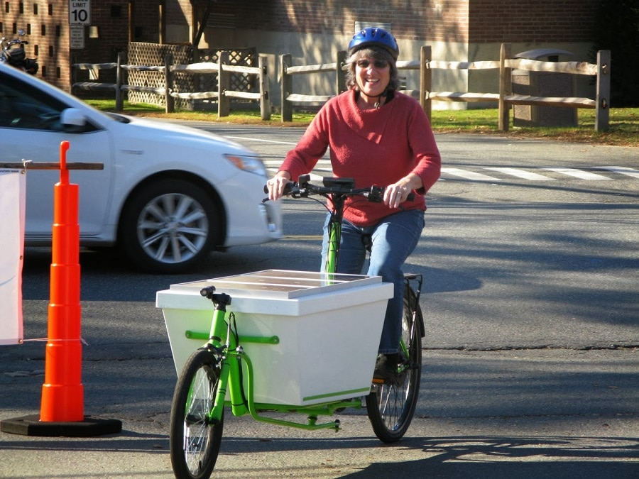 Riding your solar bicycle