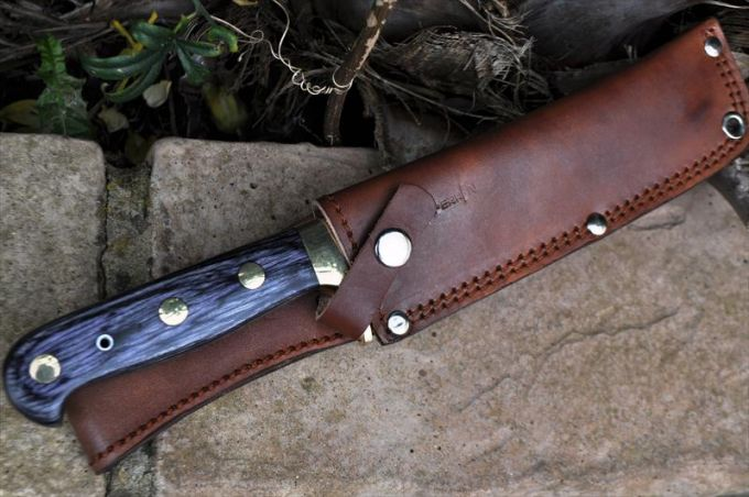 Image showing the Sheath of Bowie Knife