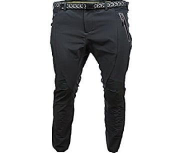Angel Cola Men's Outdoor Hiking & Climbing Softshell Athletic Pants