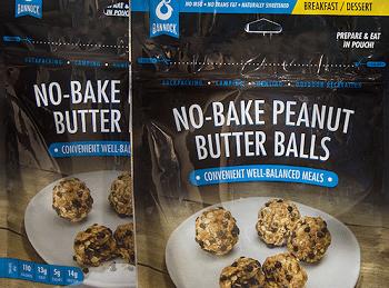 Bannock No Bake Peanut Butter Balls