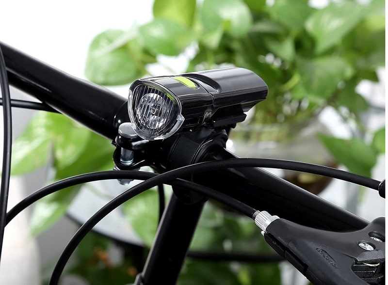 Bike with LED Headlamp