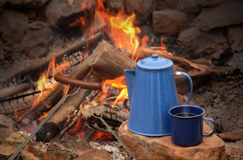 Bring your Camping Cookware