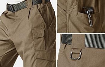 CQR Men's Tactical Pants Lightweight Assault Cargo
