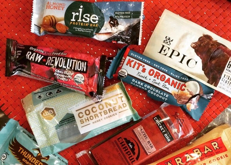 Choose your Energy Bars
