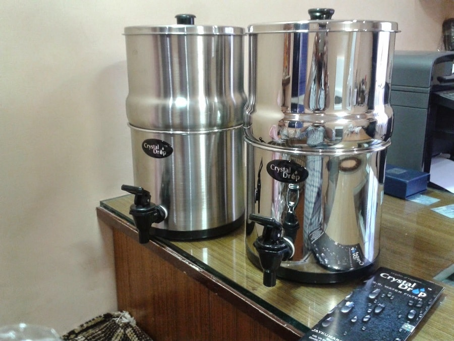 Choose your Gravity Water Filter