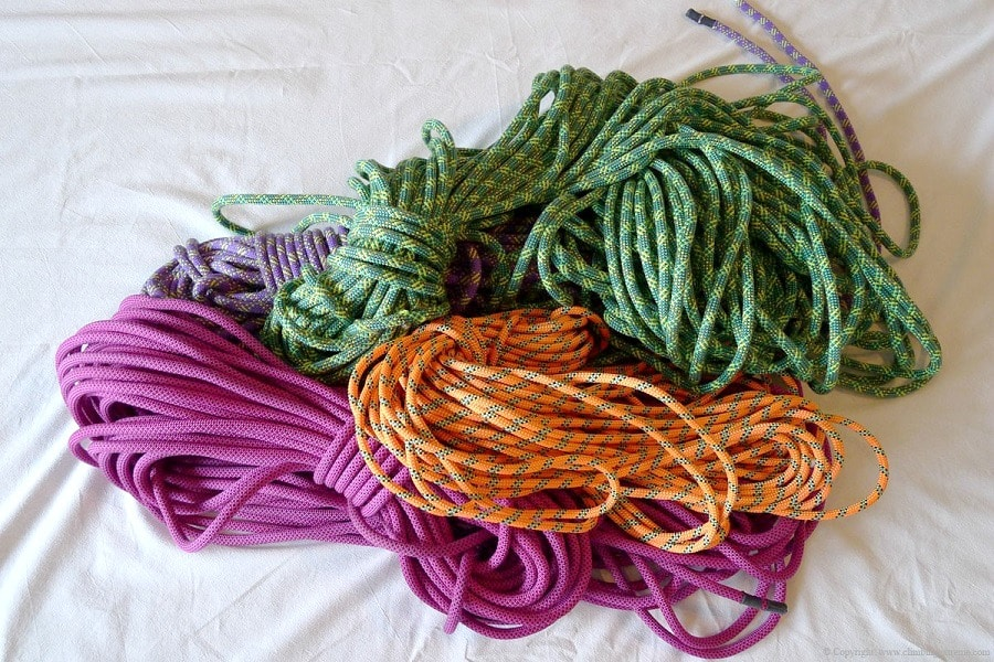Choose your climbing rope
