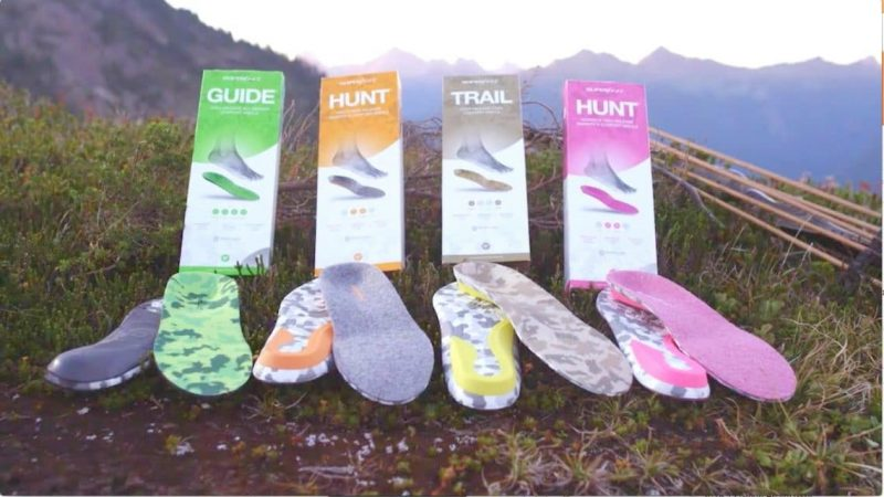 Choose your hiking insoles