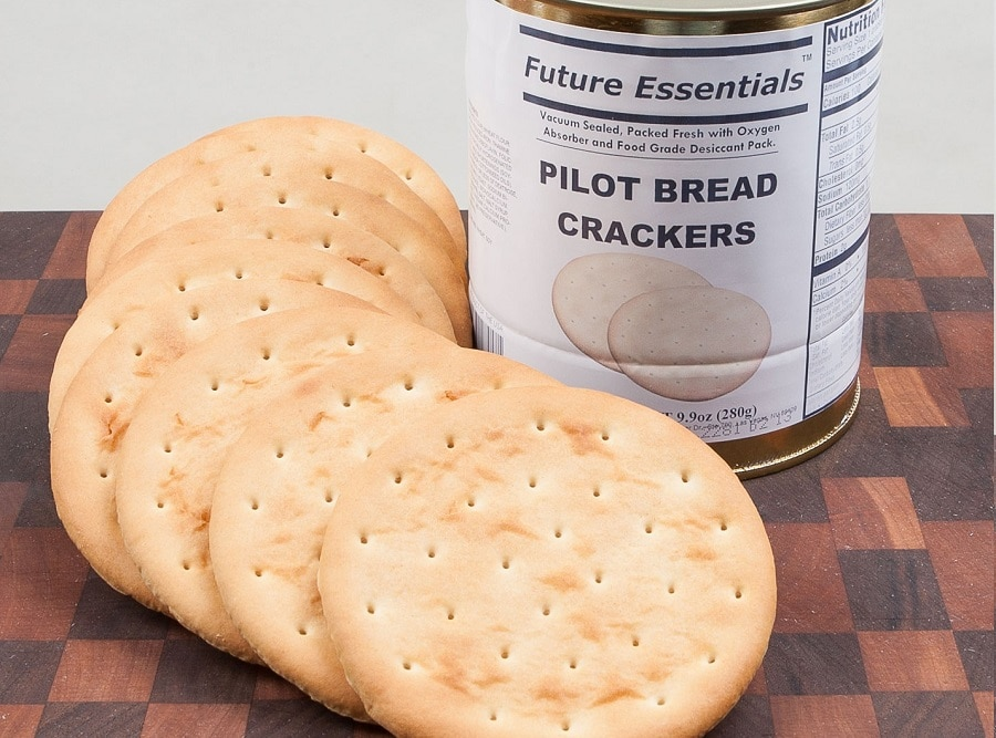 Crackers and Bread for camping